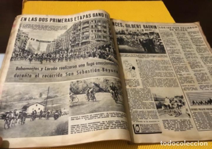 Coleccionismo deportivo: Antigua marca motociclismo vespa pegaso Lube 1955 - Foto 6 - 179343638