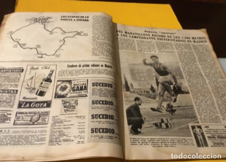 Coleccionismo deportivo: Antigua marca motociclismo vespa pegaso Lube 1955 - Foto 8 - 179343638