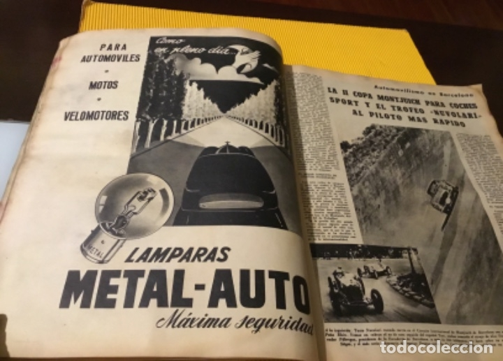 Coleccionismo deportivo: Antigua marca motociclismo vespa pegaso Lube 1955 - Foto 13 - 179343638