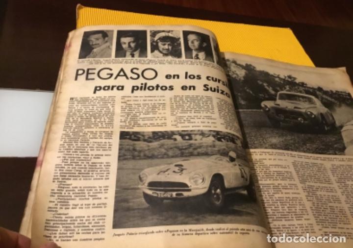 Coleccionismo deportivo: Antigua marca motociclismo vespa pegaso Lube 1955 - Foto 14 - 179343638
