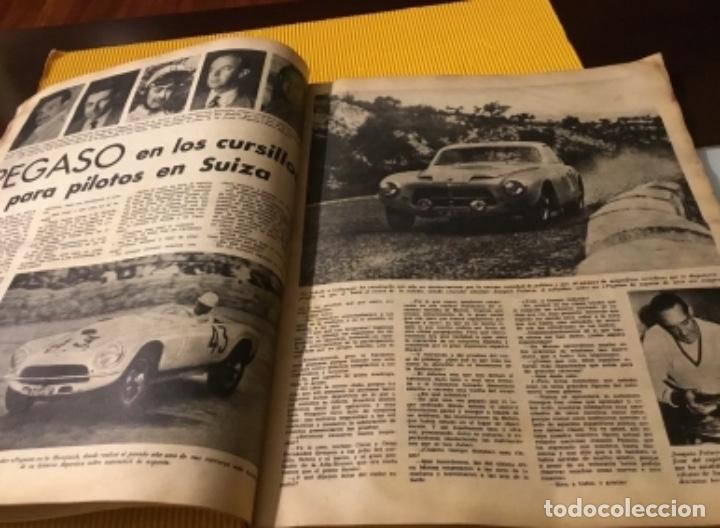 Coleccionismo deportivo: Antigua marca motociclismo vespa pegaso Lube 1955 - Foto 15 - 179343638