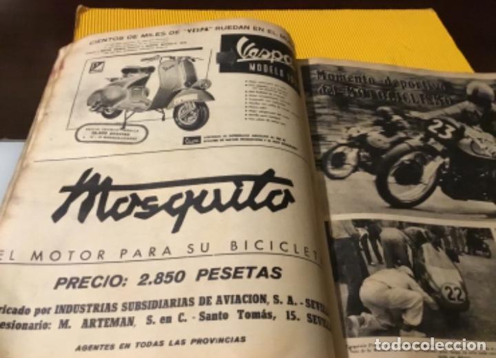 Coleccionismo deportivo: Antigua marca motociclismo vespa pegaso Lube 1955 - Foto 16 - 179343638