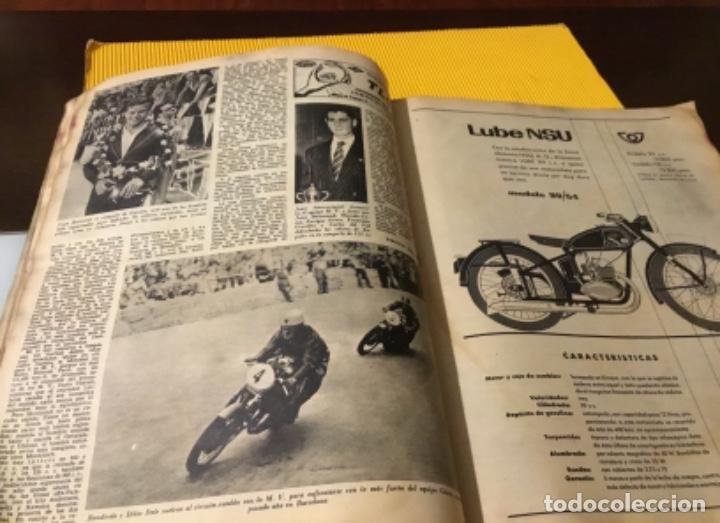 Coleccionismo deportivo: Antigua marca motociclismo vespa pegaso Lube 1955 - Foto 17 - 179343638