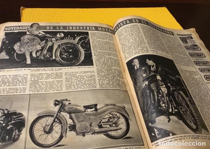 Coleccionismo deportivo: Antigua marca motociclismo vespa pegaso Lube 1955 - Foto 22 - 179343638