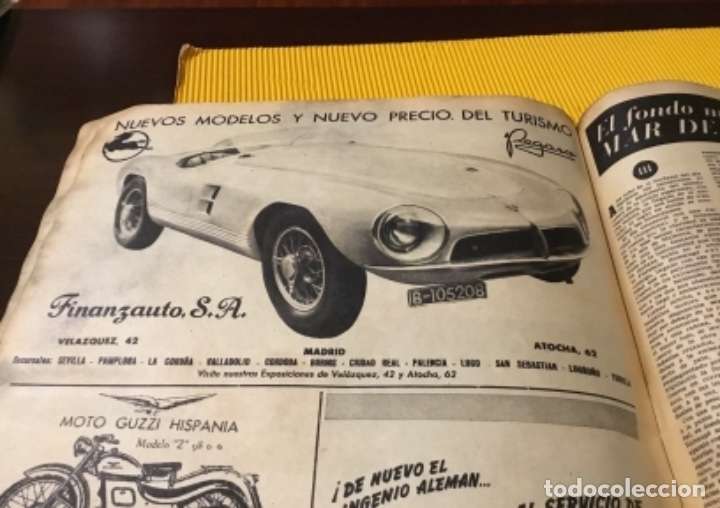 Coleccionismo deportivo: Antigua marca motociclismo vespa pegaso Lube 1955 - Foto 23 - 179343638