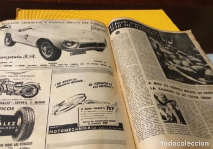 Coleccionismo deportivo: Antigua marca motociclismo vespa pegaso Lube 1955 - Foto 24 - 179343638