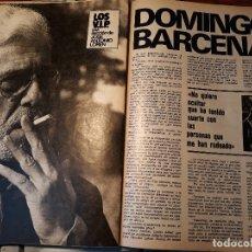 Coleccionismo deportivo: DOMINGO BARCENAS , SELECCIONADOR ESPAÑOL DE BALONMANO - ENTREVISTA -5 PAGINAS -AÑO 1981. Lote 179515072