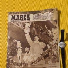 Coleccionismo deportivo: ANTIGUO PERIODICO MARCA 1956 ATHLETIC DE BILBAO CAMPEON DE LIGA 1956. Lote 179548715