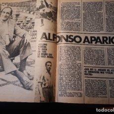 Coleccionismo deportivo: ENTREVISTA A ALFONSO APARICIO , 4 LIGAS GANADAS CON EL AT DE MADRID - 5 PAGINAS AÑO 1981 . Lote 179959885