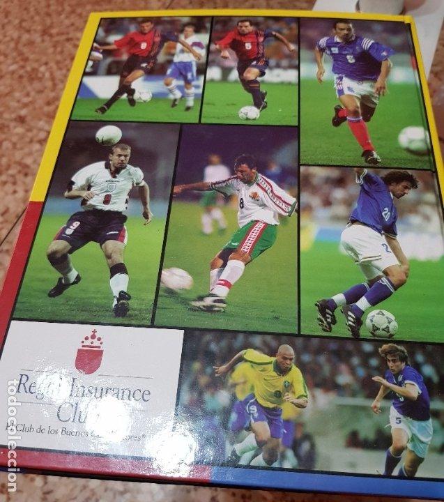 Coleccionismo deportivo: LAS ESTRELLAS DEL MUNDIAL 98 - EL AÑO DEL FUTBOL - MUNDO DEPORTIVO - COMPLETO - Foto 8 - 180005663