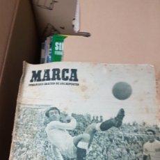 Coleccionismo deportivo: DIARIO MARCA 18 ABRIL 1950 LOS REMATES DE PATIÑO. Lote 180005982