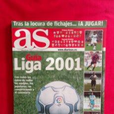 Coleccionismo deportivo: AS GUÍA LIGA 2001 DIARIO AS. Lote 179520470