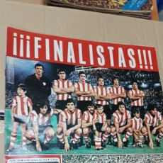 Coleccionismo deportivo: 26 JUNIO 1976 FINALISTAS COPA ATHLETICO DE BILBAO Y CASTELLON. Lote 180110181