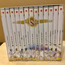 Coleccionismo deportivo: GLORIAS BLANCAS. ESTUCHE CON 13 DVD. AÑO 2007. Lote 180129468