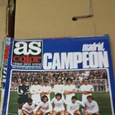 Coleccionismo deportivo: REVISTA AS 2 JUNIO 1979 REAL MADRID CAMPEÓN DE LIGA 78-79. Lote 180147527