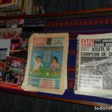 Coleccionismo deportivo: 99 DIARIO AS Y MARCA CON TÍTULOS Y HECHOS DESTACADOS ATLÉTICO DE MADRID DESDE 1991. REGALO 6 PÓSTERS. Lote 180164068