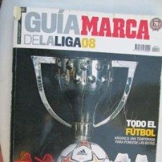 Coleccionismo deportivo: GUIA MARCA DE LA LIGA 2008 . Lote 180195592