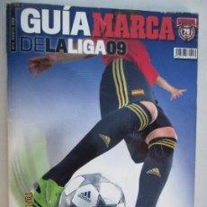 Coleccionismo deportivo: GUIA MARCA DE LA LIGA 2009 . Lote 180195750