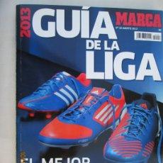 Coleccionismo deportivo: GUIA MARCA DE LA LIGA 2013. Lote 180196168