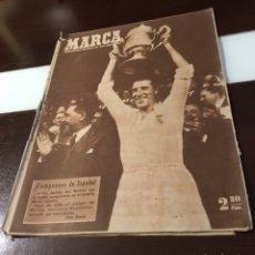 Coleccionismo deportivo: REAL MADRID CAMPEON DE COPA 1947 ANTIGUO MARCA. Lote 180222205