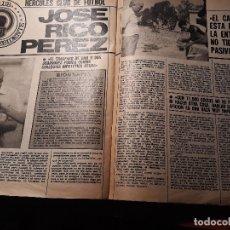 Coleccionismo deportivo: ENTREVISTA A JOSE RICO PEREZ , PRESIDENTE DEL HERCULES - AÑO 1982 -4 PAGINAS. Lote 180228771