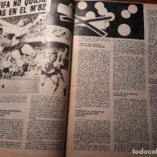 Coleccionismo deportivo: LA FIFA NO QUIERE DROGAS EN EL MUNDIAL DE ESPAÑA 1982 - JUAN JOSE PARADINAS - DOS PAGINAS. Lote 180233575