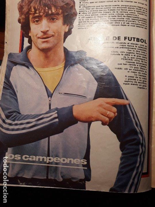Coleccionismo deportivo: REPORTAJE SOBRE EL JUGADOR DEL BARCELONA ALESANCO - AÑO 1982 9 PAGINAS - Foto 5 - 180234401