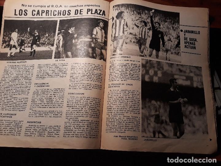 LOS CAPRICHOS DE PLAZA - PRESIDENTE DEL COMITE NACIONAL DE ARBITROS 4 PAGINAS - AÑO 1982 (Coleccionismo Deportivo - Revistas y Periódicos - Don Balón)