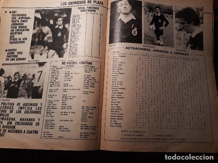 Coleccionismo deportivo: LOS CAPRICHOS DE PLAZA - PRESIDENTE DEL COMITE NACIONAL DE ARBITROS 4 PAGINAS - AÑO 1982 - Foto 2 - 180234811
