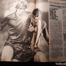 Coleccionismo deportivo: BERND SCHUSTER - QUIERO JUGAR EL MUNDIAL - AÑO 1982 - 4 PAGINAS . Lote 180235178