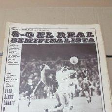 Coleccionismo deportivo: REVISTA AS 22 DE MARZO 1973 REAL SEMIFINALISTA. Lote 180250811