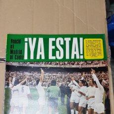 Coleccionismo deportivo: REVISTA AS REAL MADRID CAMPEON LIGA 77-78. Lote 180251607
