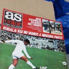 Coleccionismo deportivo: REVISTA AS 8 JUNIO 1978 LOS EXTRANJEROS UN PROBLEMA. Lote 180252173