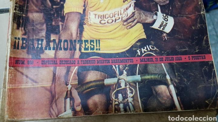Coleccionismo deportivo: Revista marca 21 julio 1959 especial Bahamontes - Foto 2 - 180286636