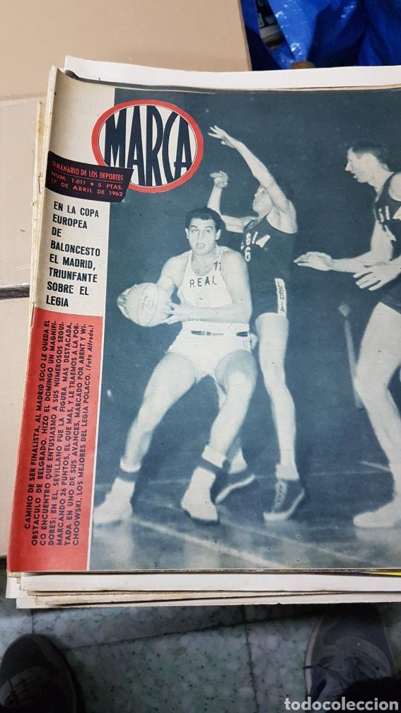 REVISTA MARCA 17 ABRIL 1962 (Coleccionismo Deportivo - Revistas y Periódicos - Marca)