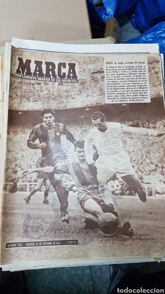 REVISTA MARCA 15 OCTUBRE 1977 GENTO EL MEJOR EXTREMO DE EUROPA (Coleccionismo Deportivo - Revistas y Periódicos - Marca)