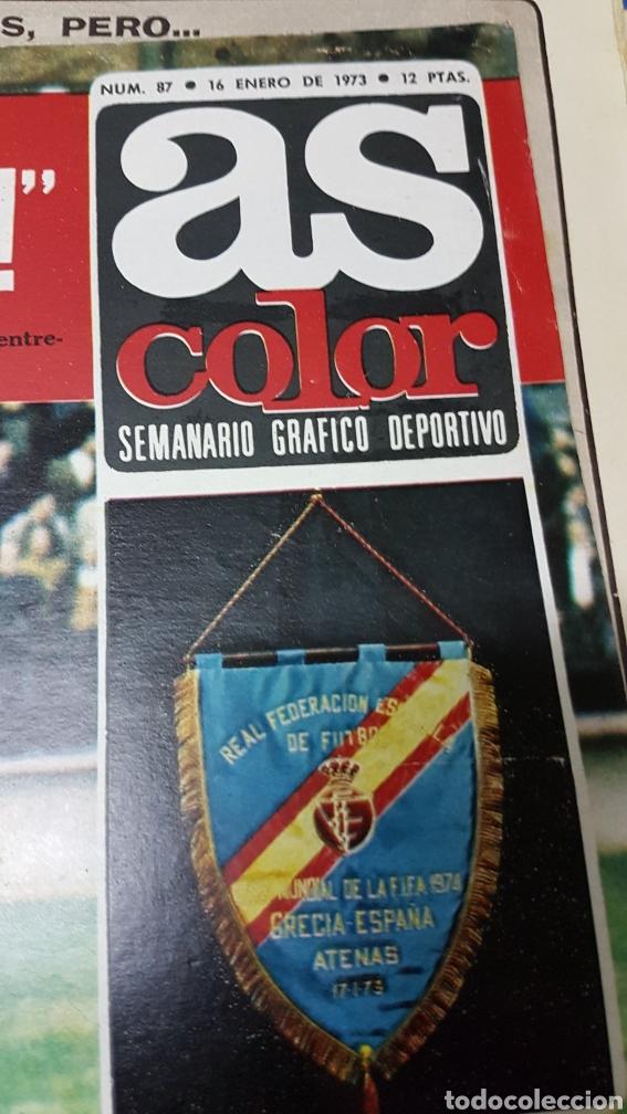 Coleccionismo deportivo: Revista As color 16 enero 1973 - Foto 2 - 180287461