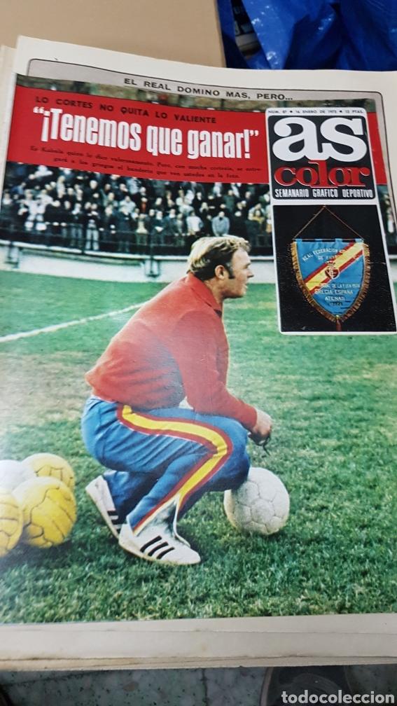 REVISTA AS COLOR 16 ENERO 1973 (Coleccionismo Deportivo - Revistas y Periódicos - Marca)