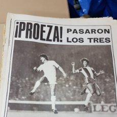 Coleccionismo deportivo: REVISTA AS 8 NOVIEMBRE 1978 PROEZA. Lote 180287656