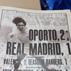 Coleccionismo deportivo: REVISTA AS 25 OCTUBRE 1979 OPORTO 2 REAL MADRID 1. Lote 180287701