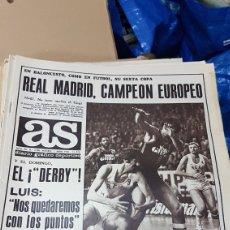 Coleccionismo deportivo: 7 ABRIL 1978 REAL MADRID CAMPEON EUROPEO DE BALONCESTO. Lote 180348426