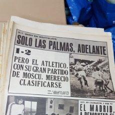 Coleccionismo deportivo: REVISTA AS 9 NOVIEMBRE 1972 SÓLO LAS PALMAS ADELANTE. Lote 180386500