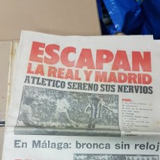 Coleccionismo deportivo: REVISTA MARCA 17 DICIEMBRE 1979. Lote 180386897