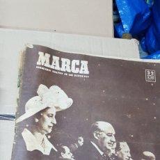 Coleccionismo deportivo: REVISTA MARCA 4 DE ABRIL 1950 ESPAÑA 5 PORTUGAL 0. Lote 180388220