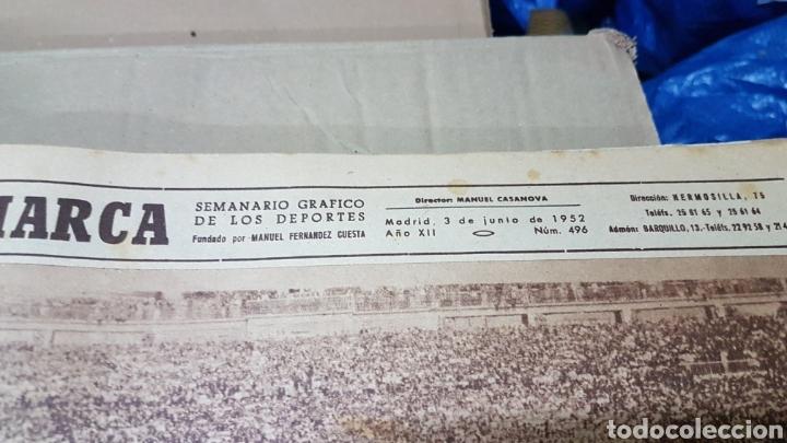 Coleccionismo deportivo: Revista Marca 3 junio 1952 seleccion española - Foto 2 - 180388548