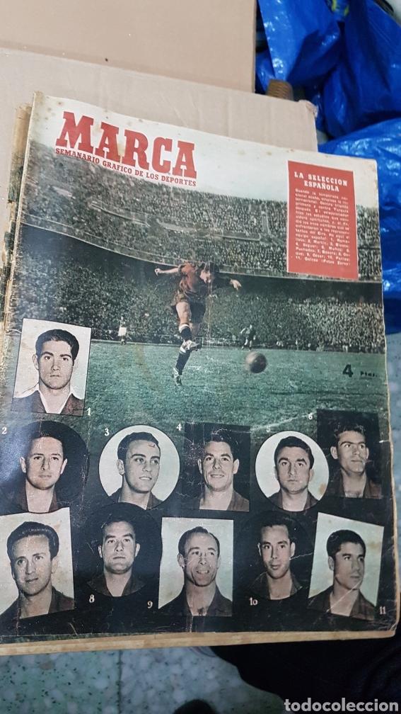 REVISTA MARCA 3 JUNIO 1952 SELECCION ESPAÑOLA (Coleccionismo Deportivo - Revistas y Periódicos - Marca)