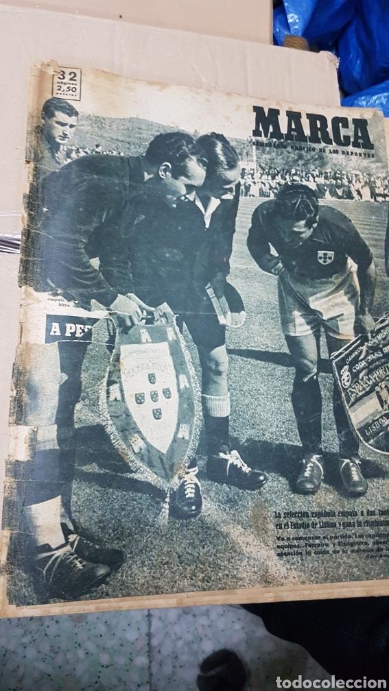 REVISTA MARCA 11 ABRIL 1950 ESPAÑA PORTUGAL (Coleccionismo Deportivo - Revistas y Periódicos - Marca)