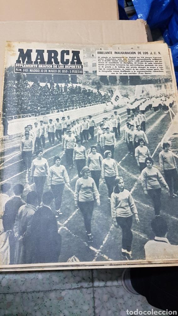 REVISTA MARCA 10 DE MARZO 1959 (Coleccionismo Deportivo - Revistas y Periódicos - Marca)