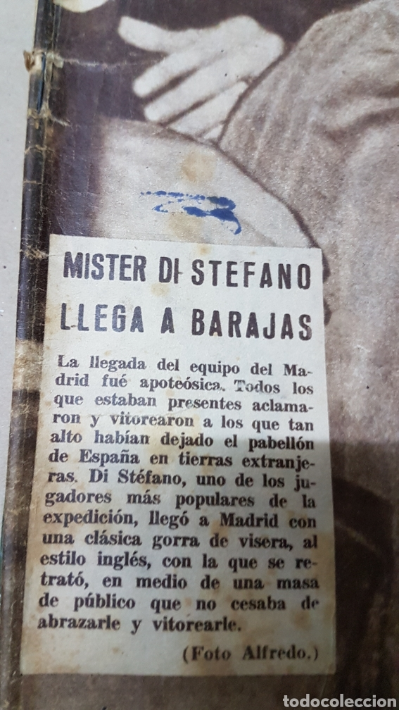 Coleccionismo deportivo: Revista Marca 30 abril 1957 mister di Stéfano llega a Barajas - Foto 2 - 180389065