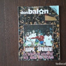 Coleccionismo deportivo: REVISTA DON BALÓN NÚMERO 632 AÑO 1987. Lote 180420503